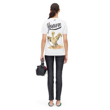 LOEWE T-Shirt Bird Blanco front