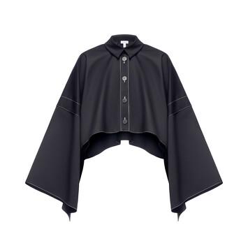 LOEWE Shirt Jacket 黑色 front