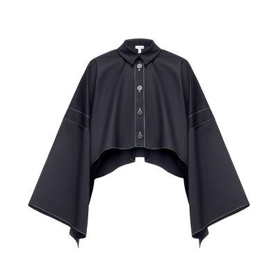 LOEWE シャツジャケット ブラック front