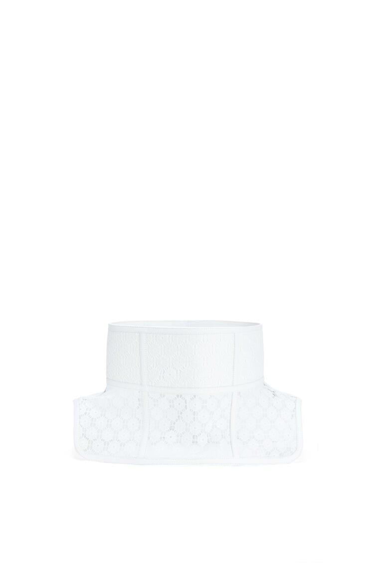 LOEWE Obi Belt Lace In Nappa White pdp_rd