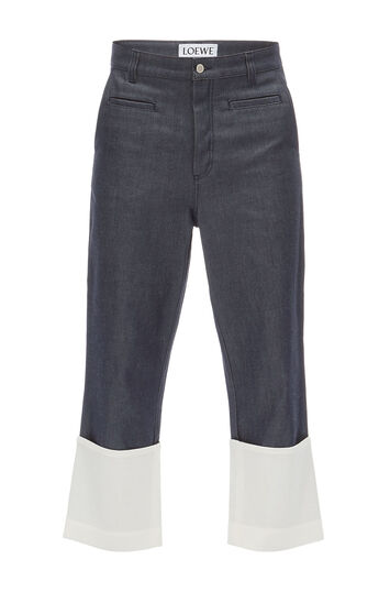 Pantalon Jean Fisherman