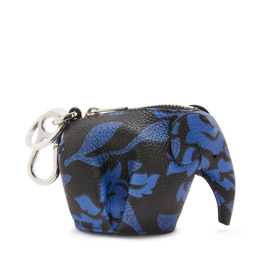LOEWE Paula Elephant Charm Midnight Blue/Black front