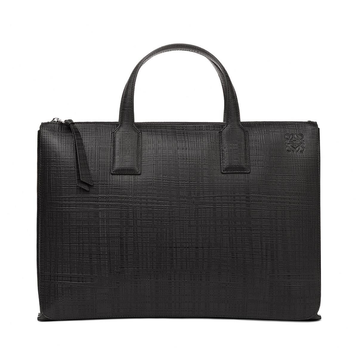 LOEWE Goya Simple Briefcase 黑色 all