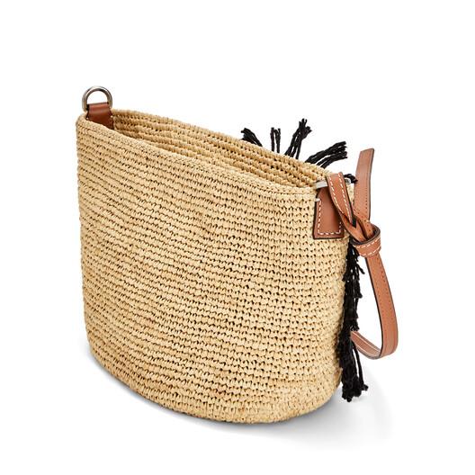 LOEWE Paula's Pochette Yin Yang Bag Natural/Tan front