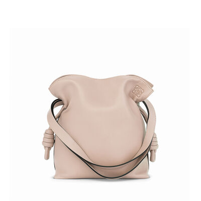 LOEWE Flamenco Knot Small Bag 粉末灰 front