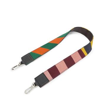 LOEWE Bandolera Rugby Multicolor front