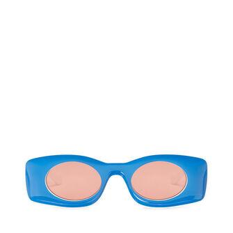 LOEWE Paula Sunglasses 蓝色/白色 front
