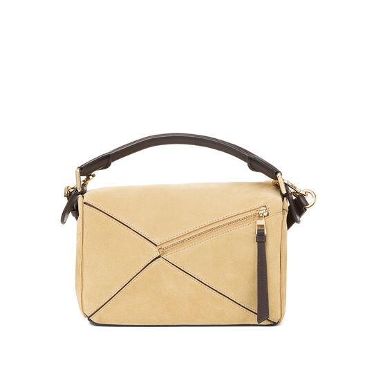 LOEWE Puzzle Small Bag 金色 all