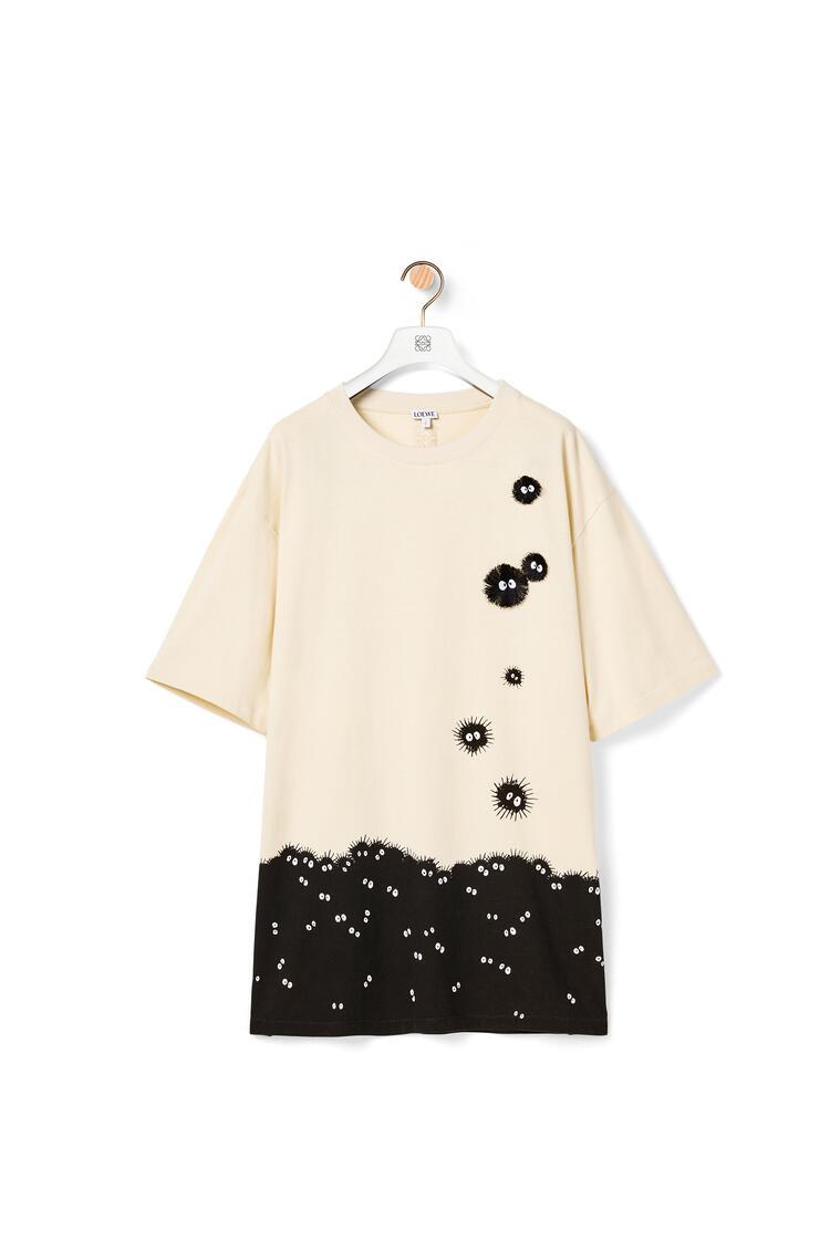 LOEWE 棉质小灰兔T恤 Ecru/Black pdp_rd