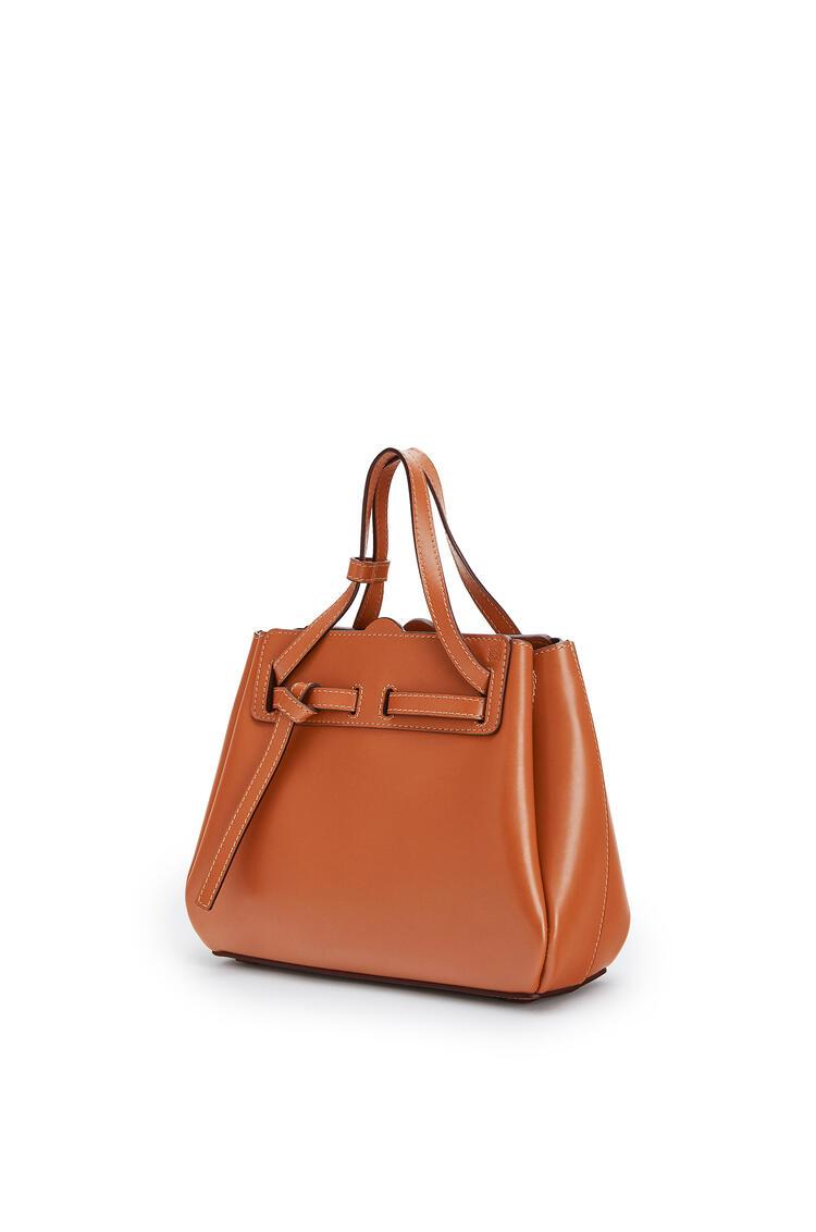 LOEWE Mini Lazo bag in box calfskin Tan pdp_rd
