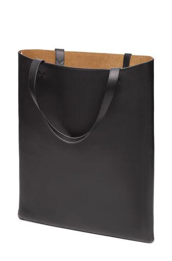 LOEWE Vertical Tote Chair Large Bag 白色/黑色 front
