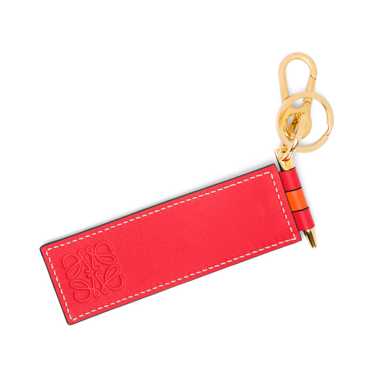 LOEWE Charm Loewe Gate Naranja/Rojo front