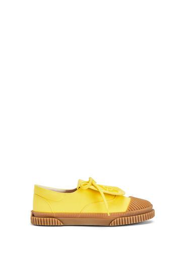 LOEWE 系带帆布运动鞋 黄色 pdp_rd