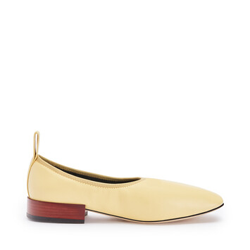 LOEWE Soft Ballerina 25 Light Yellow front