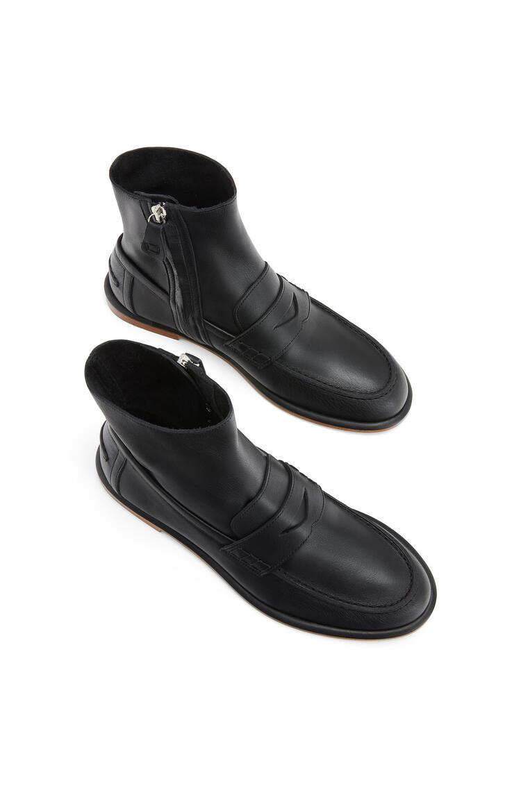 LOEWE Loafer boot in calfskin Black pdp_rd