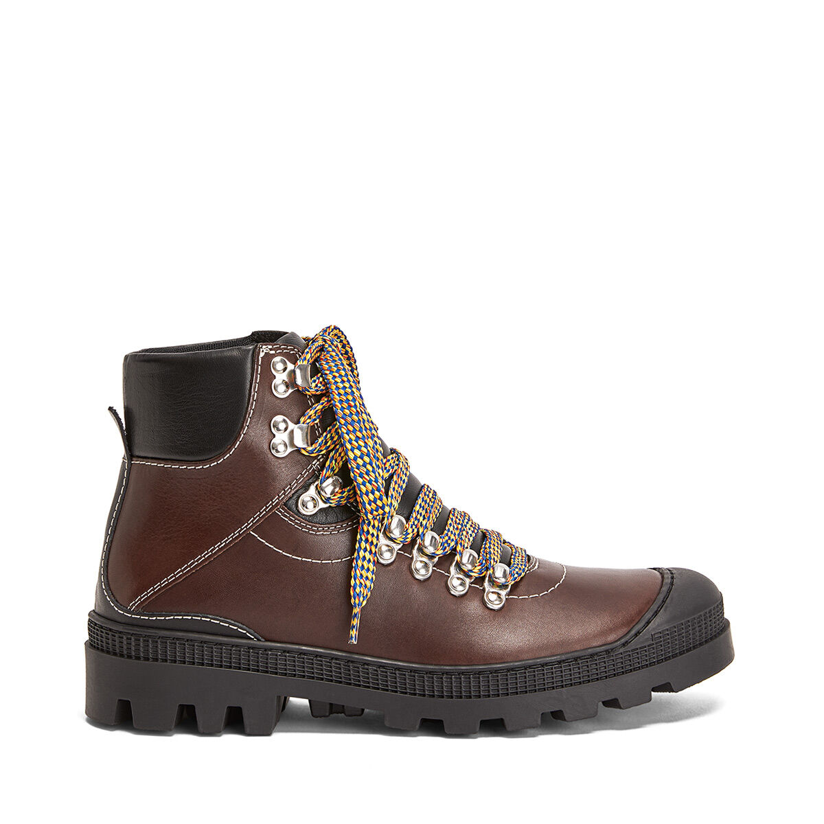LOEWE Hiking Boot Dark Brown all