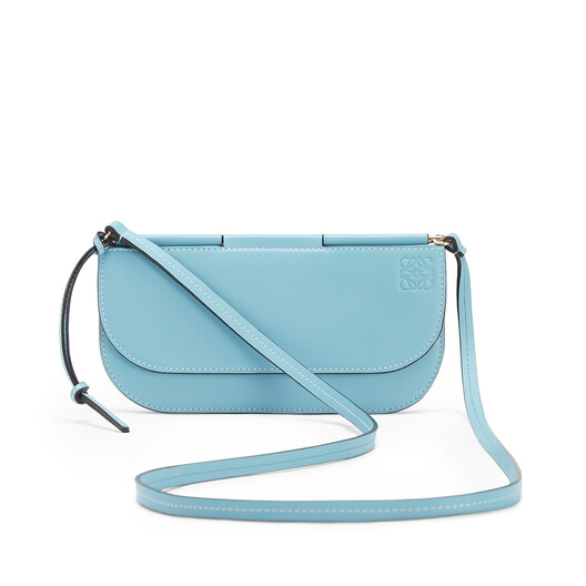 LOEWE Gate Pochette Light Blue front