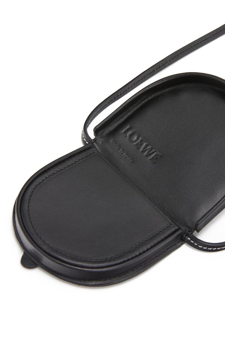 LOEWE Mini Heel pouch in calfskin Black pdp_rd