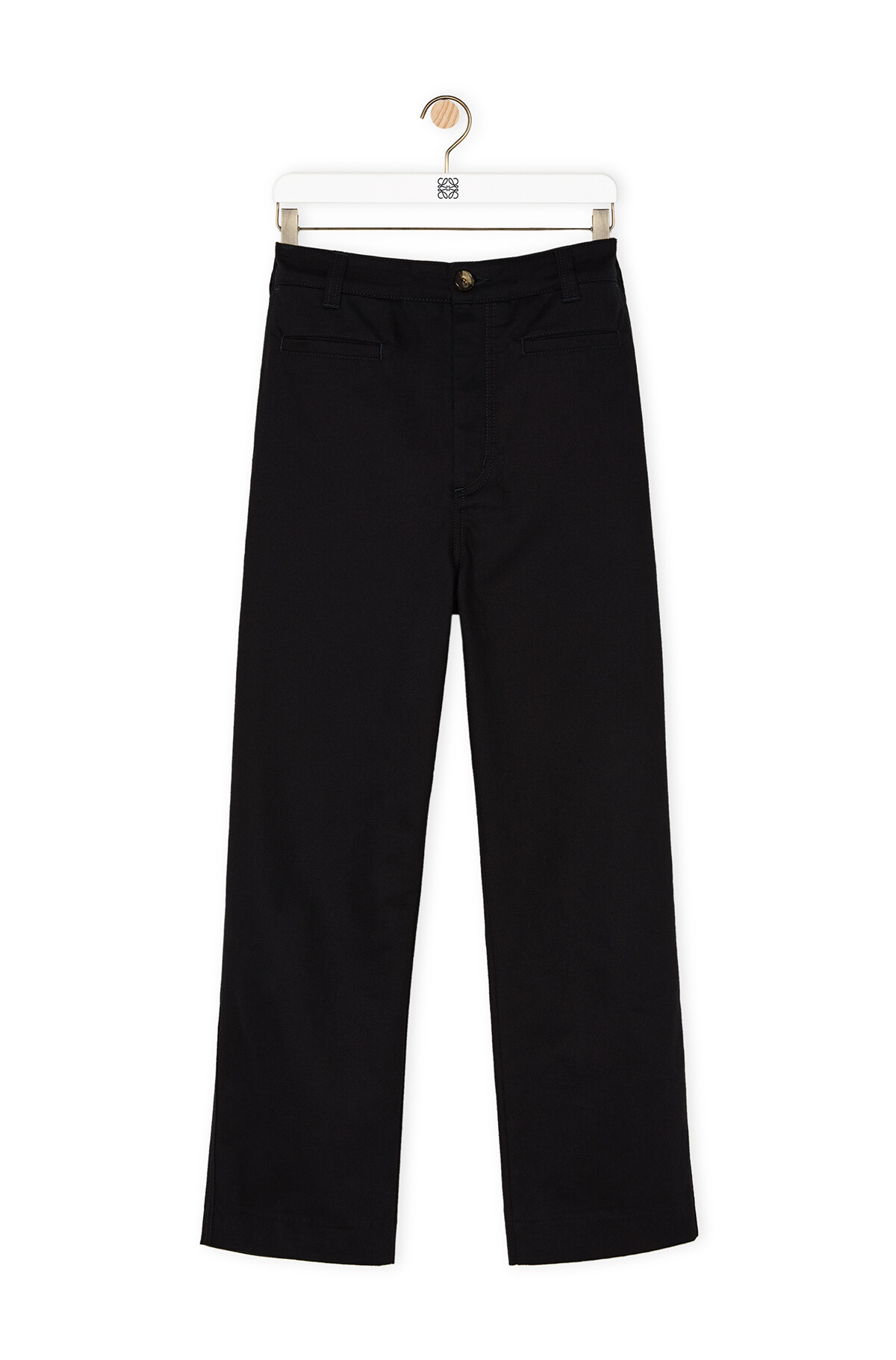 LOEWE Fisherman Trousers Blue front