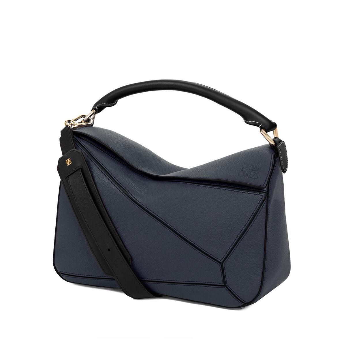 Blue Medium Puzzle Bag Loewe J6XoXOx5lS