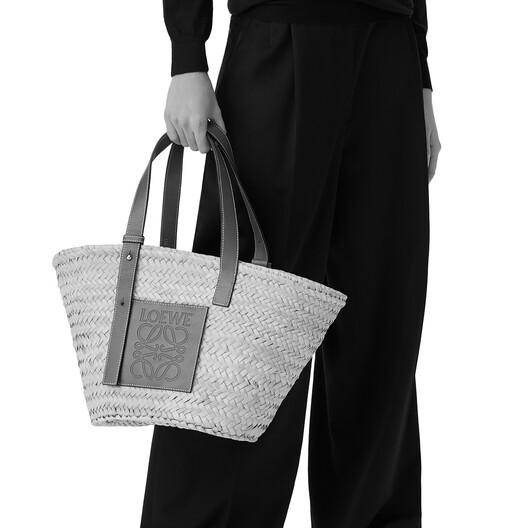 LOEWE London Basket Bag Natural/Primary Red front