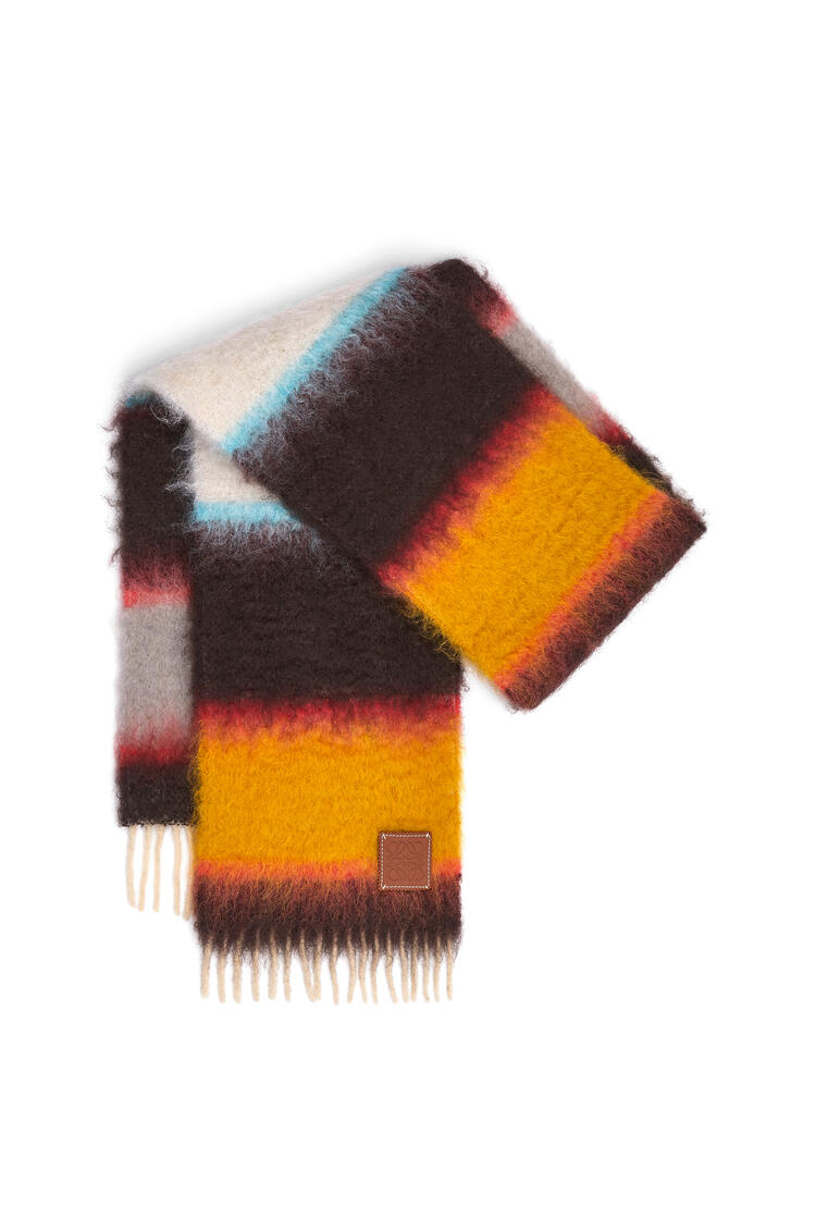 LOEWE 23X185 MOHAIR SCARF STRIPES Multicolor pdp_rd