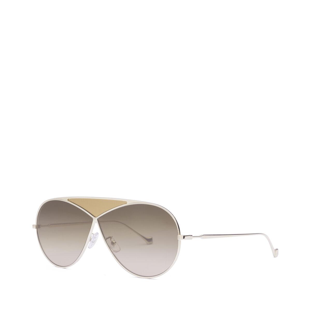 LOEWE Gafas Puzzle Piloto Oro Claro/Roviex Degradado all