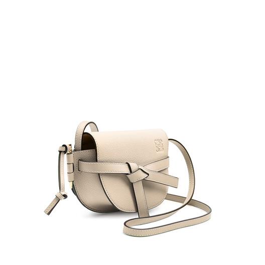 LOEWE Gate Mini Bag Light Oat  front