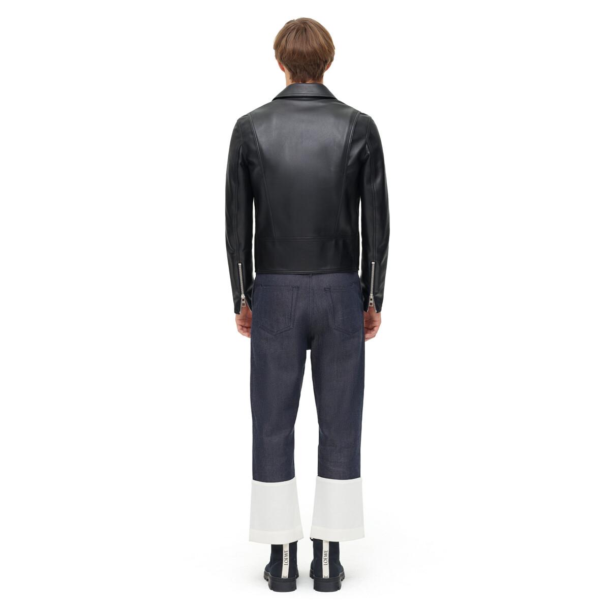 LOEWE Biker Jacket Black front