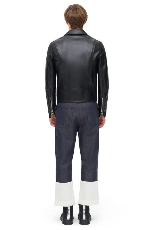 LOEWE Pantalon Jean Fisherman Marino all