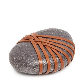 LOEWE Hizashi Open Knot Stone 棕褐 front