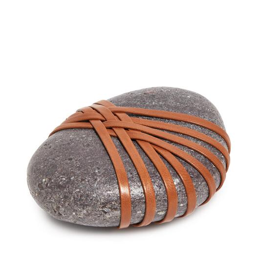 LOEWE Hizashi Open Knot Stone Tan front