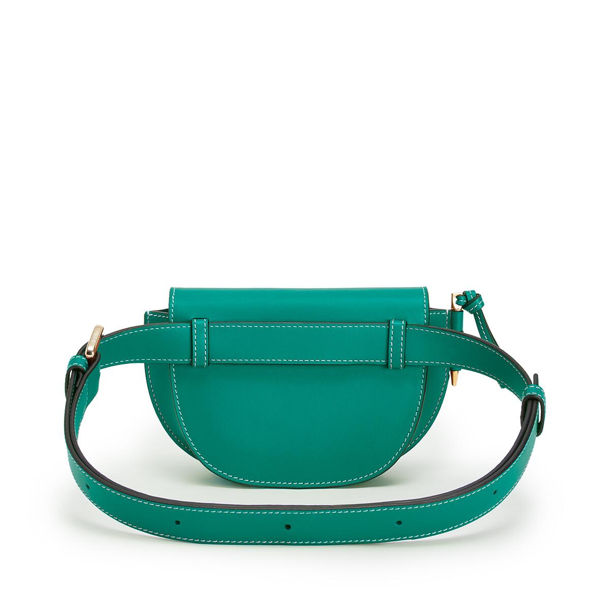 LOEWE Gate Bumbag Emerald Green front
