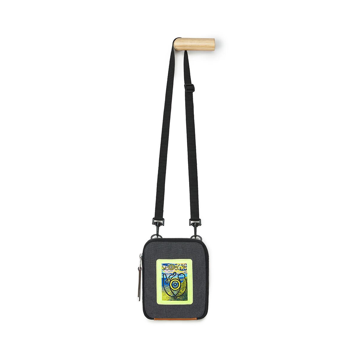 LOEWE Eye/Loewe/Nature Crossbody Bag Black front