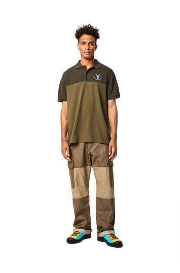LOEWE Eln Trousers Verde Kaki front