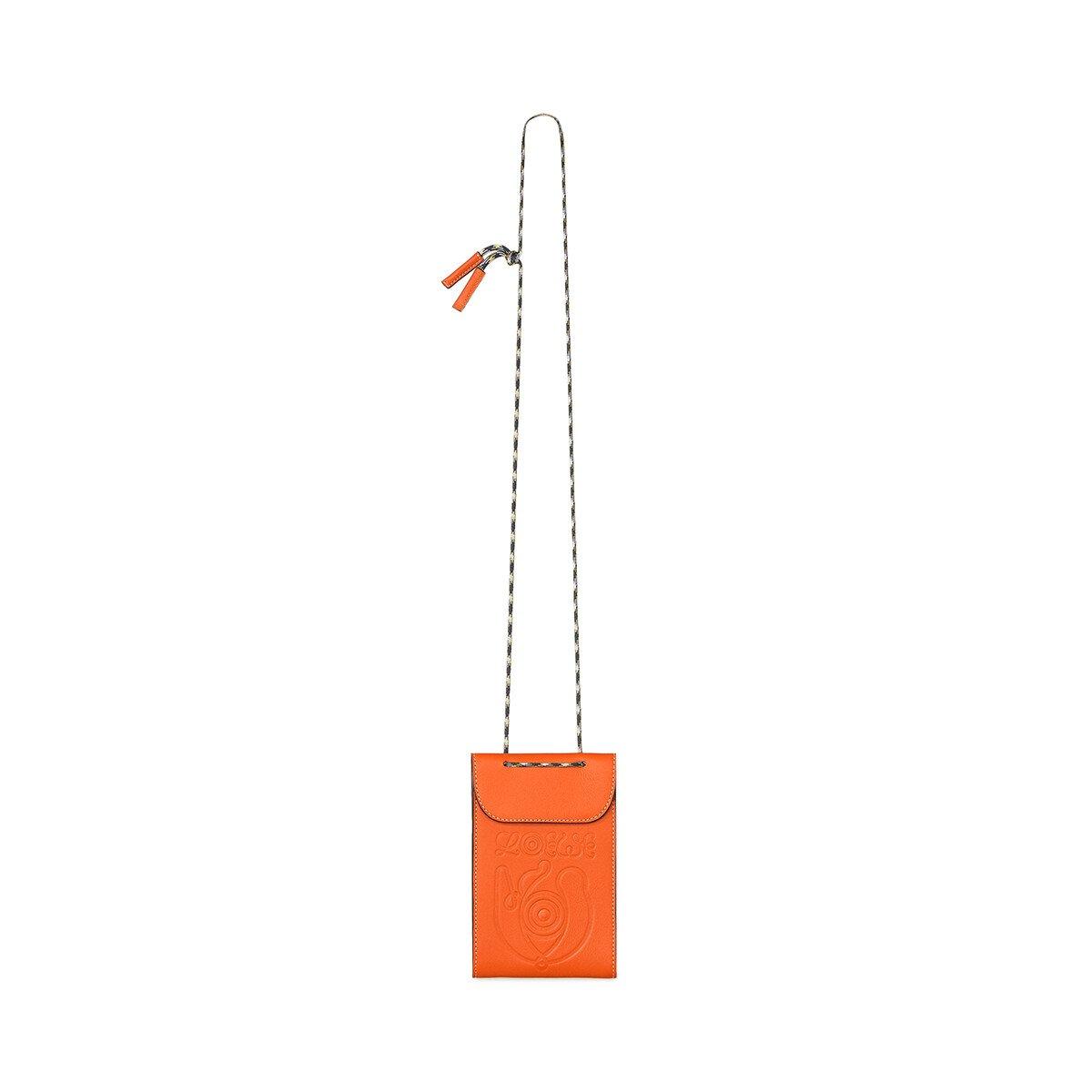 LOEWE Eln Neck Pocket Orange front