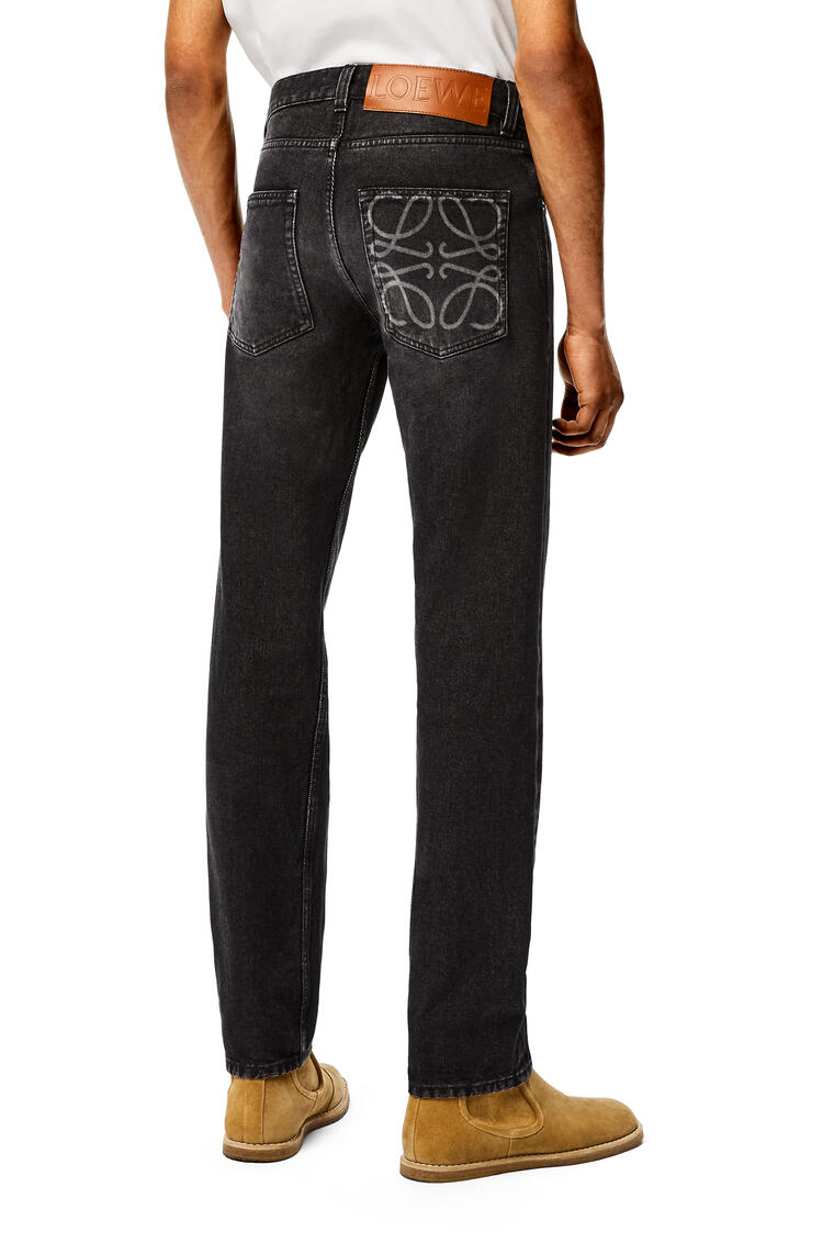LOEWE Tapered jeans in denim Black pdp_rd