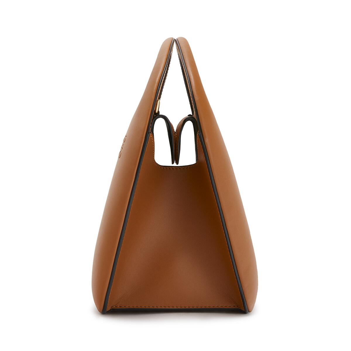 LOEWE Architects D Bag 棕褐 front