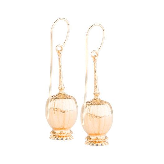 LOEWE Poppy Earrings 金色 all