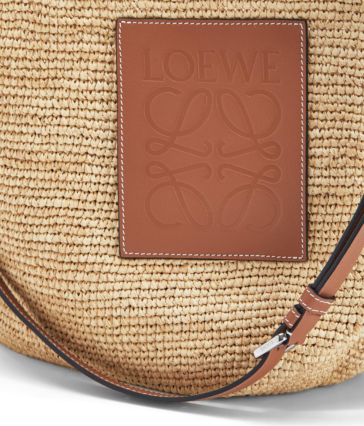 LOEWE Slit Large Bag Natural front
