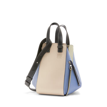 LOEWE Hammock Small Bag Light Oat/Sage front