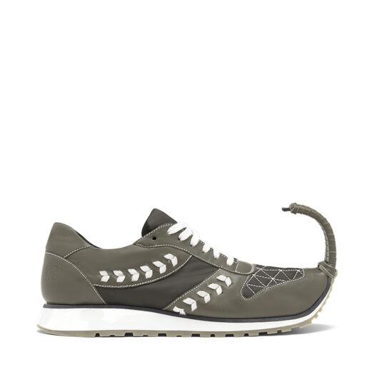 LOEWE Sneakers Dinausorio Verde Kaki all