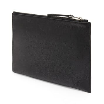 LOEWE Pouch Plana Dragon Negro front