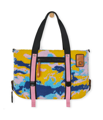 LOEWE Eye/Loewe/Nature Tote Camouflage Bag Multicolor front
