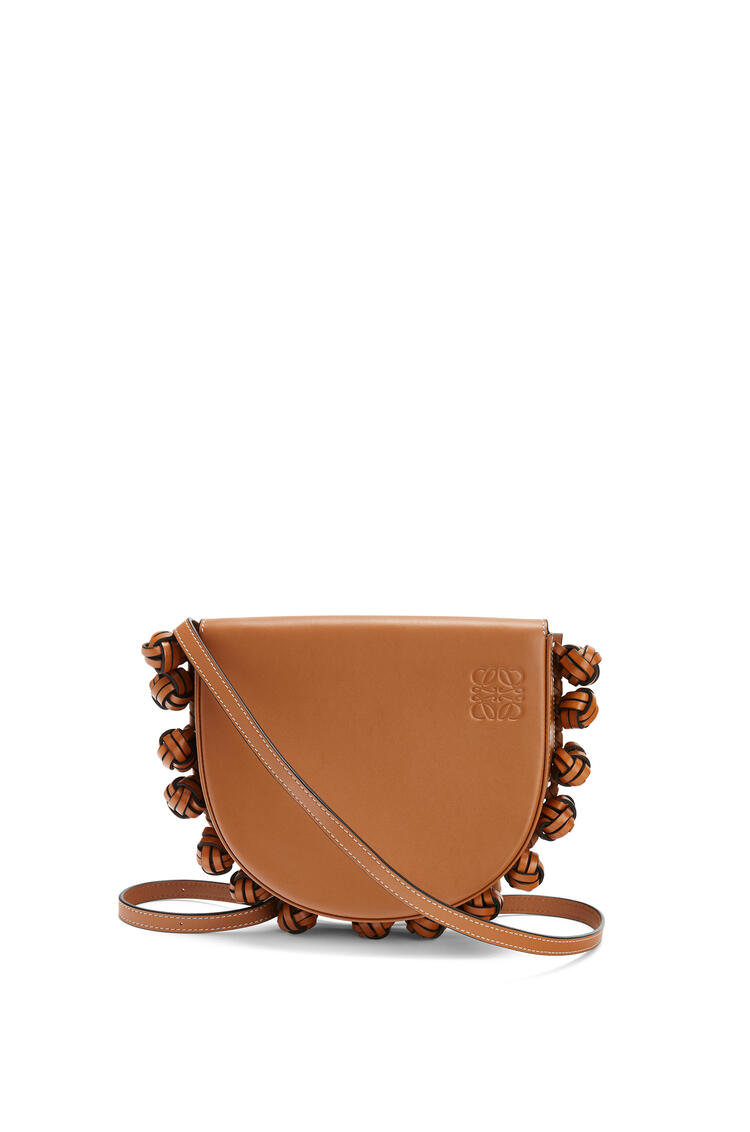 LOEWE Heel Knots Bag In Soft Calfskin Tan pdp_rd