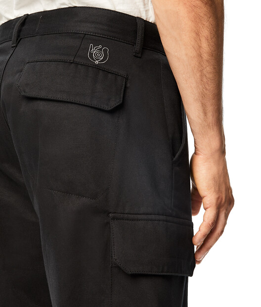 LOEWE Eln Shorts Black front