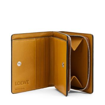 LOEWE Compact Zip Wallet Brand Bronceado/Ocre front