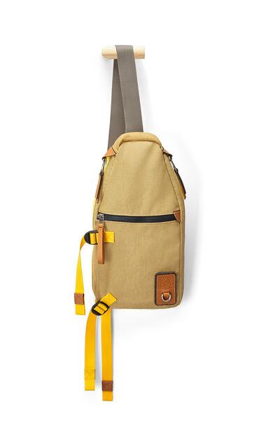 LOEWE Eln Sling Backpack Gold front