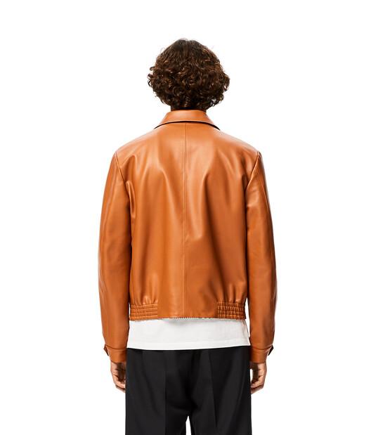 LOEWE Zip Jacket Tan front