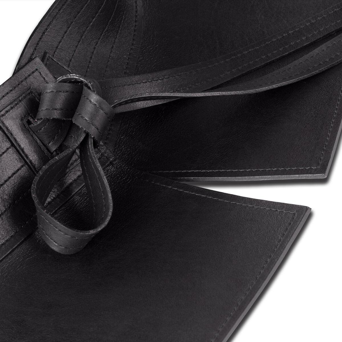 LOEWE Cinturon Obi Negro all
